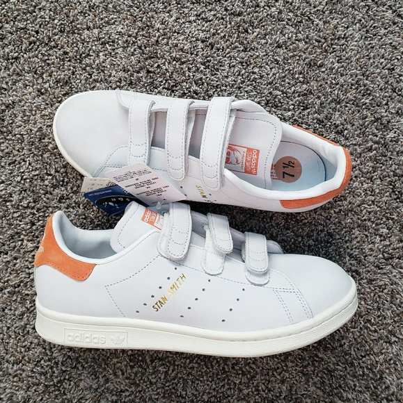 adidas stan smith scratch orange